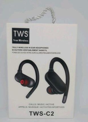 Беспроводные вакуумные Bluetooth Наушники TWS-C2