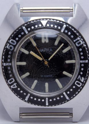 Часы Чайка амфибия 1615 20 атм автоподзавод 25 камней RRRRRR