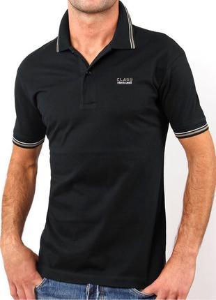 Мужская футболка тениска поло ROBERTO CAVALLI М 50 Оригинал с гол