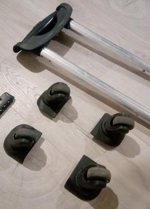 Ножки к дорожной сумки 4 шт диаметр колеса 4,6мм Ручка для сумки