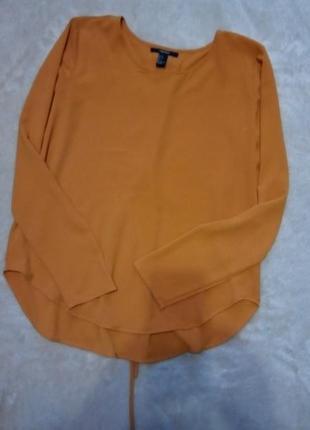 Блузка с красивой спинкой размер 8 forever 21