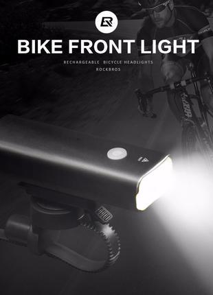 Фонарь на велосипед Фара велосипедная метал T6 + ПОДАРОК МИГАЛКА