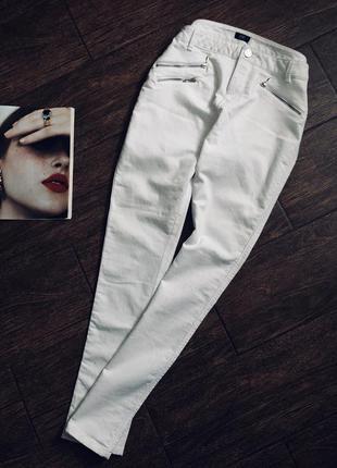 Летние белые брюки большого размера