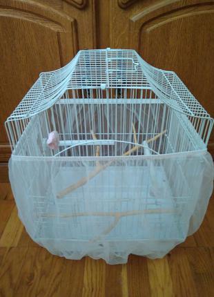 Сетка на клетку - защита от мусора
