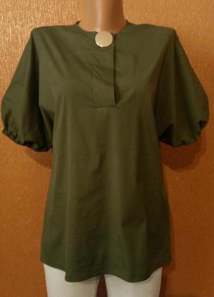 Блузка летняя свободная размер 6-8 zara