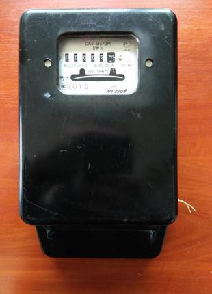 Лічильник 3-фазний СА4-И672М 20А