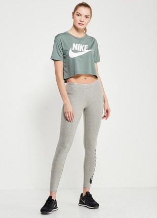 Кроп топ футболка nike sportswear essential р.l
