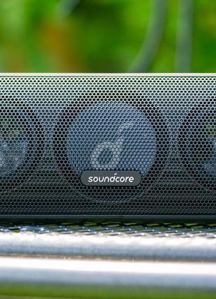 Колонка Anker Soundcore Motion Plus, (AptX, 30 Ватт, IPX7, type c
