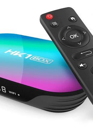 Приставка HK1 Box, 4/128 GB, Amlogic S905X3, Android TV Box