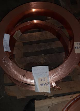 Лента медная 0.8х80 М1 ДПРНМ ГОСТ 1173-2006