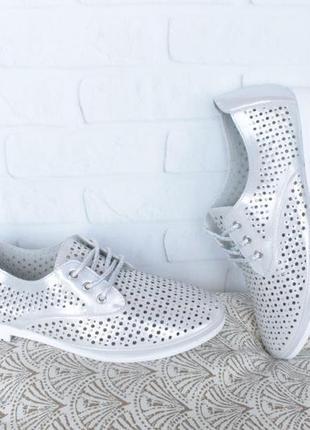 Кожаные туфли на шнурках, оксфорды, дерби, броги 36, 37, 39 ра...