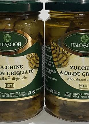 Баклажани смажені на грилі в олії 314 мл, Італія