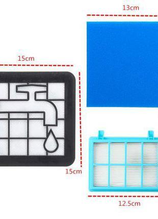 Набор фильтров DOMPRO для пылесосов Philips FC8010/01