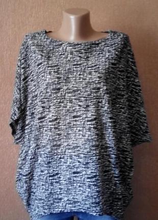 Блузка-футболка свободная размер 8-12 new look