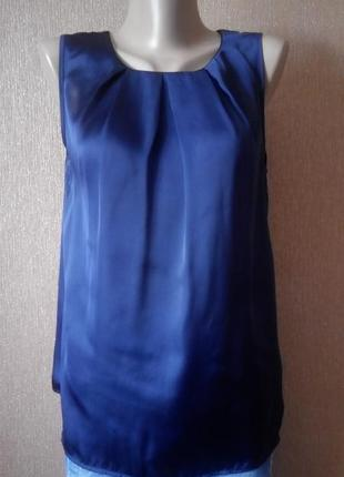 Блузка-рубашка по спине размер 10 new look