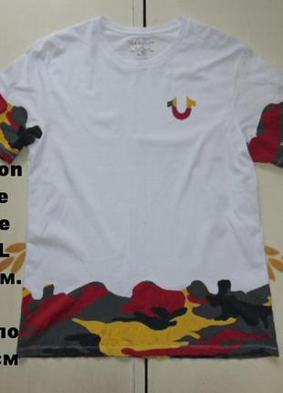 True religion camo футболка размер xl
