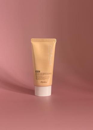 Солнцезащитный крем для лица apieu