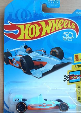 2018 Хот Вилс Машинки HOT WHEELS Indy 500 Oval GULF Оригінал США