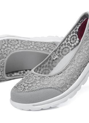 Женские парусиновые туфли. Лоферы
