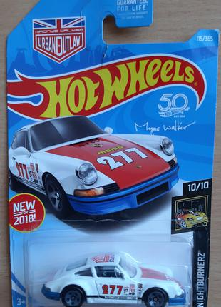 2018 Хот Вилс Машинки HOT WHEELS 71 Porsche 911 Оригінал з США