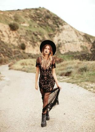 Платье-сетка new look