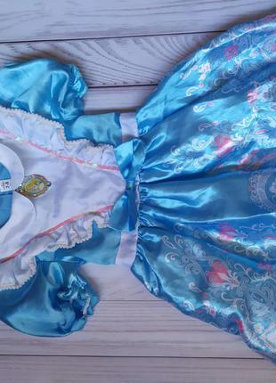Платье алиса в стране чудес 7-8 лет