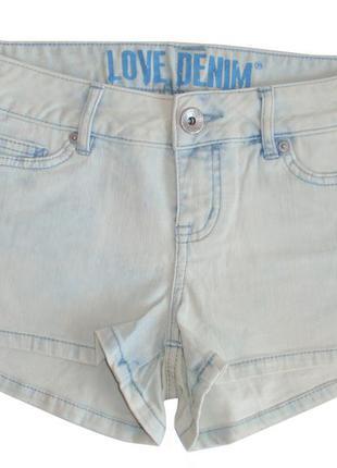 Шорты джинсовые женские немецкий бренд tom tailor р. s l