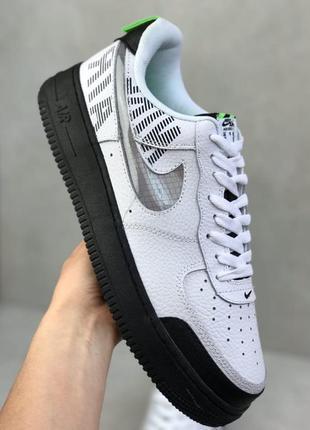 Nike air force 1 max gross білий