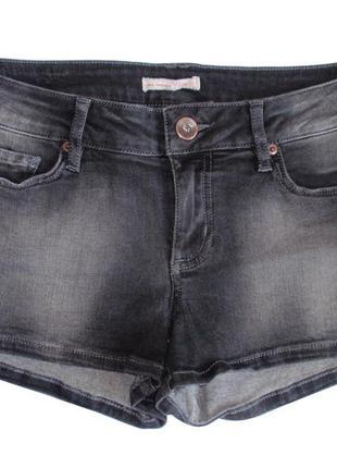 Джинсовые шорты женские немецкий бренд tom tailor р. m-xl