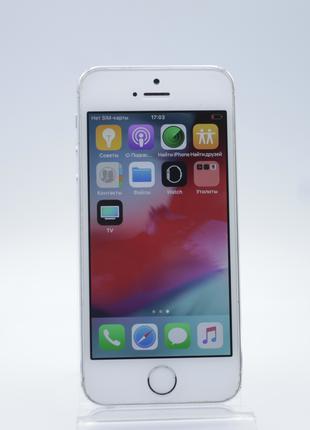 Apple iPhone 5s 16GB Silver Neverlock  (02464)