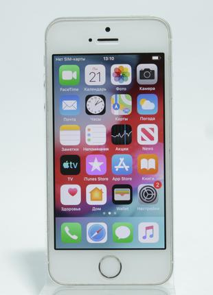 Apple iPhone 5s 16GB Silver Neverlock  (45657)