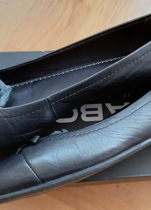 Балетки VAGABOND AIDA Black Чорний Шкіра Кожа Розмір 38 Туфлі