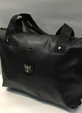 Спортивная женская сумка на каждый день.шоппер.сумка из экокожи.