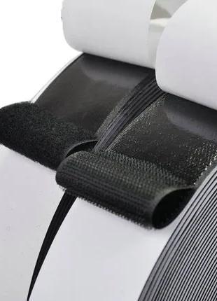 Многоразовая лента липучка на клеевой основе 11 см (крючки)