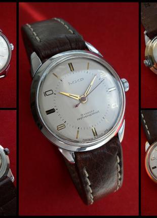«МИР-2209»  СОВЕТСКИЕ часы 60-х. мужские МЕХАНИКА  коллекционные