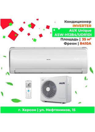 Кондиционер 35м.кв. Инвертер AUX ASW-H12B4/UDR1DI Unique INVERTER