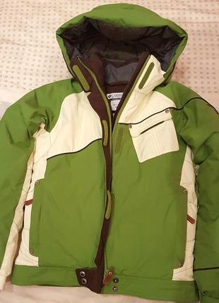 Куртка зимняя 10/12 лет columbia