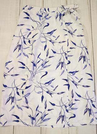 Летняя юбка миди , xl-xxl