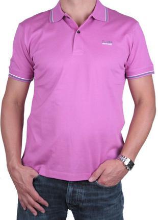 Мужская футболка тениска поло ROBERTO CAVALLI M, L, XL Оригинал с