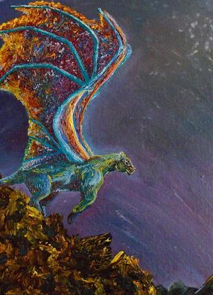 "Картина маслом ""Пантера з крилами (нове життя)"", 2017 рік"