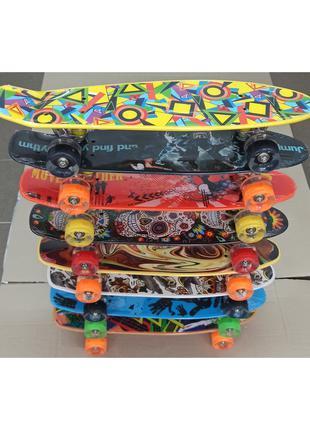 Скейт пенні борди з малюнками.Пен