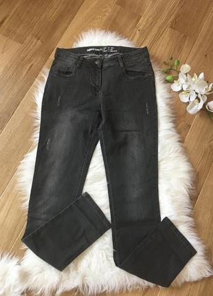Серые джинсы на подпростка 176, джинсы скини, мужские джинсы 176