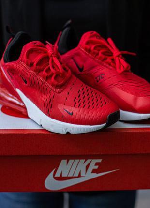 Nike Air Max 270 White\Red