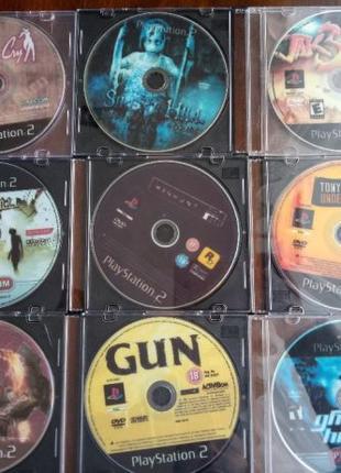 Игры диски Sony Playstation 2, PS2 по 60 грн/шт