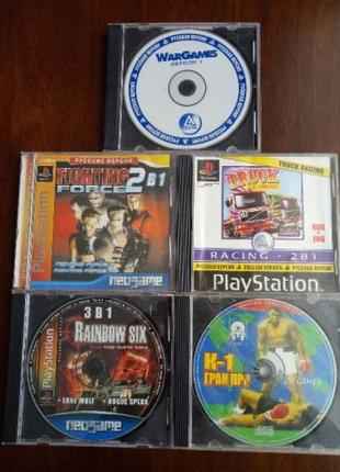 Игры диски Playstation One, PS One, Playstation 1 по 30 грн/шт