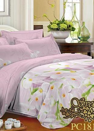 Комплект постельного белья двуспальный, 3D поликоттон