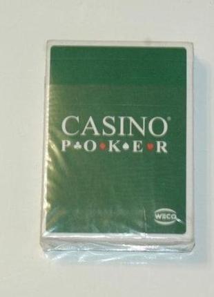 Карты игральные для покера Casino Poker Weco, Германия
