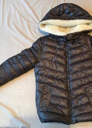 Куртка женская зимняя. Тёплая куртка. Короткая. серая, пуховик