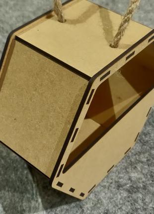 Кашпо, корзина для цветов, разноска, подарок, ящик , упаковка, ко