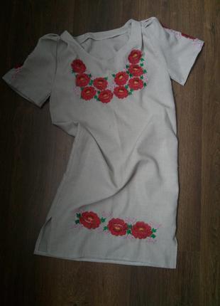 Платье детское для девочки 7-9 лет